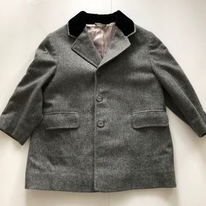 Vintage Young Quinlan wool boys jacket